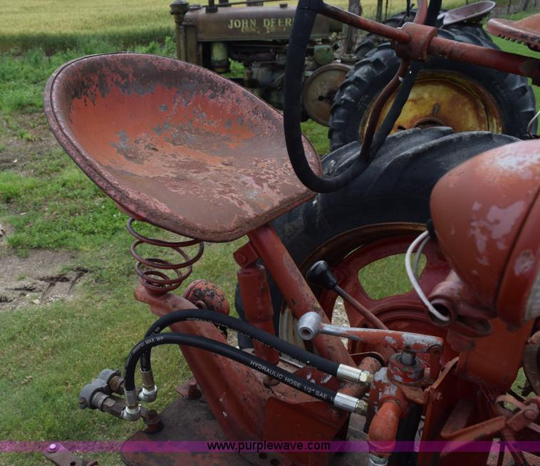 1951 Farmall M tractor   Item H5051   SOLD! July 15 Ag Equip