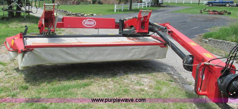 Vicon Km3200 Disc Mower No Reserve Auction On Wednesday