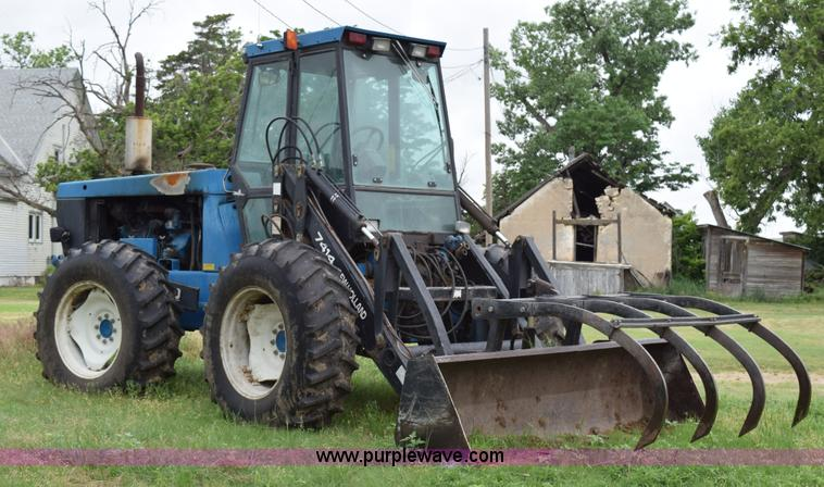 Ford Bi Directional Tractor : New holland versatile wd bi directional tractor
