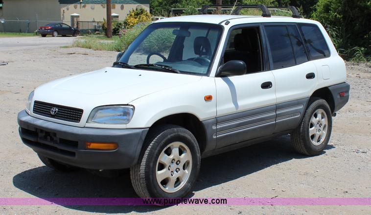 1996 Toyota Rav4 Mail Car Item I1649 Sold July 15 Vehic