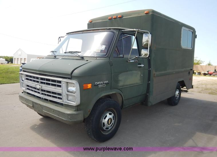 1986 Chevrolet G30 Cargo Van No Reserve Auction On