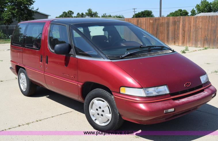 1992 chevrolet lumina apv van in hill city ks item k6105 sold purple wave 1992 chevrolet lumina apv van in hill