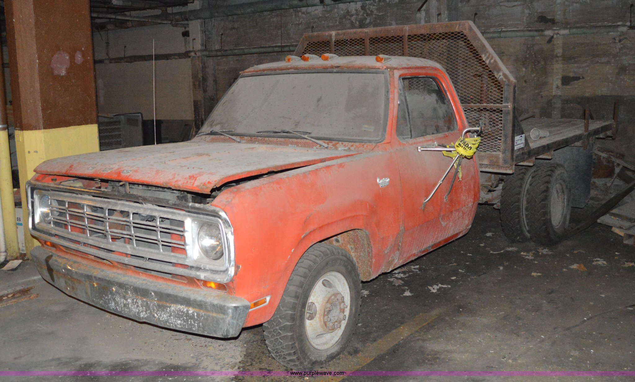 1974 Dodge Ram D30 flatbed pickup truck | Item I2854 | SOLD!