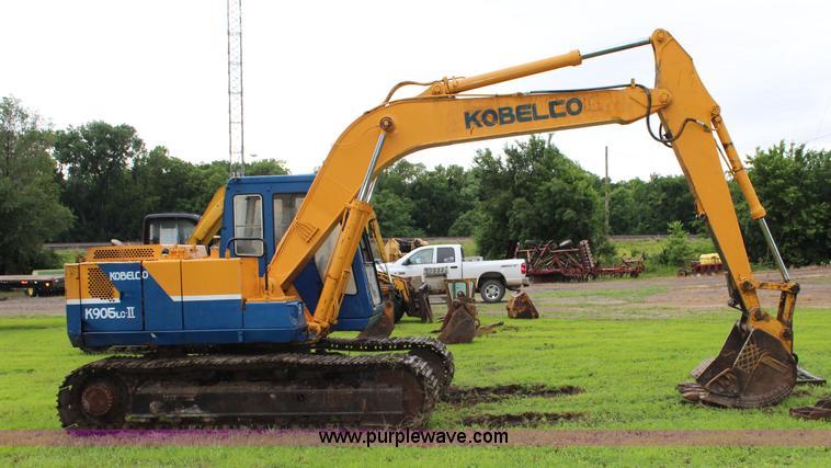 Kobelco K905LC-II excavator | Item J5978 | SOLD! July 16 Con