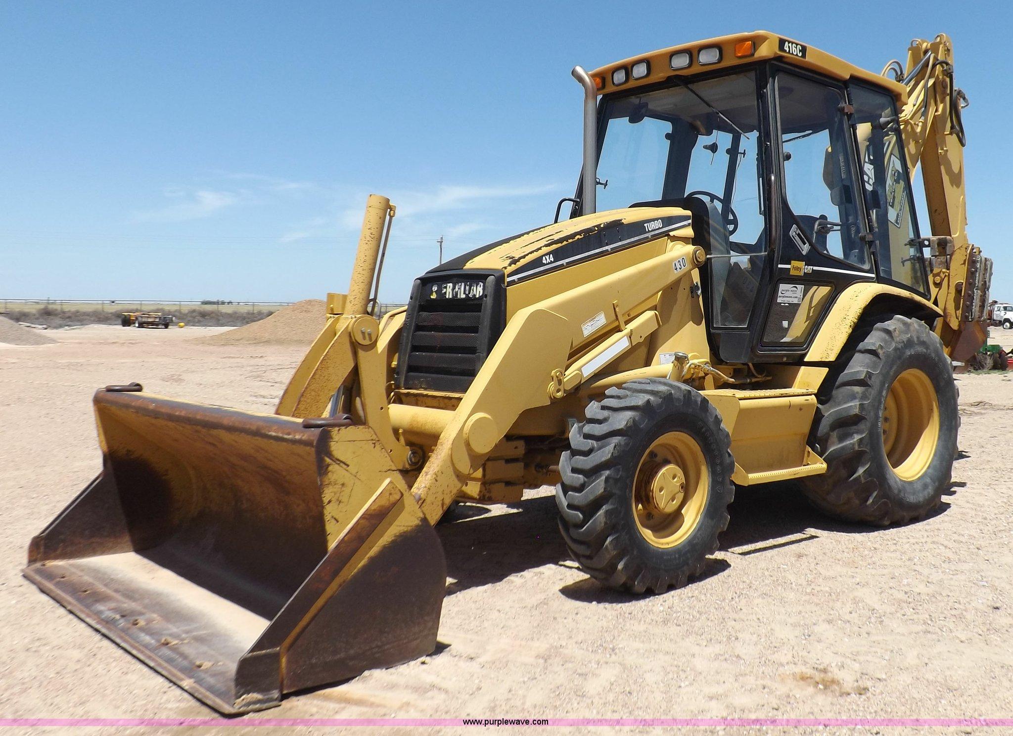 1998 Caterpillar 416C backhoe | Item K3969 | SOLD! July 16 C