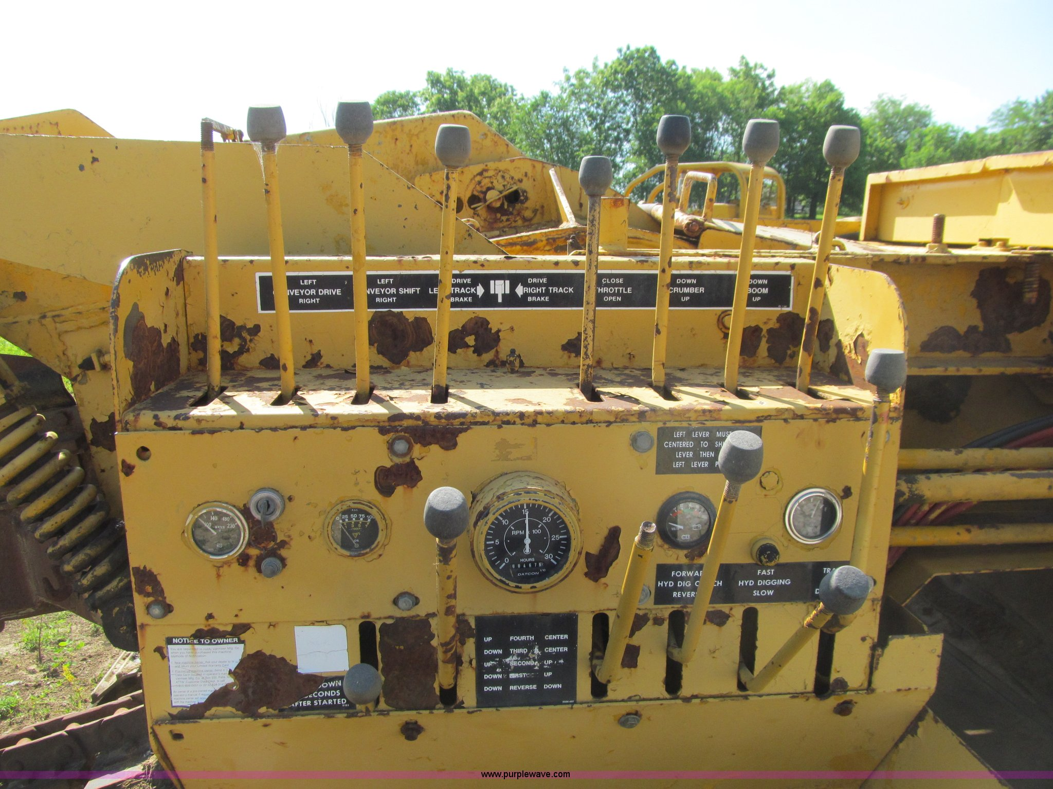 Vermeer T600c Trencher With Tile Boot Item K5688 Sold