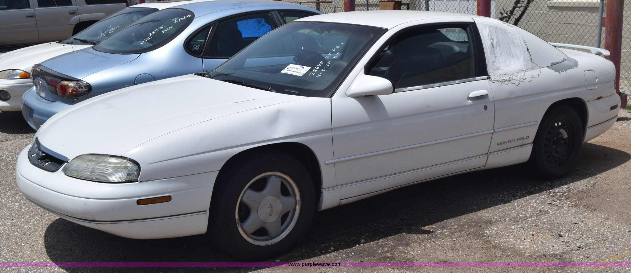 1995 chevrolet monte carlo ls in wichita ks item j6617 sold purple wave 1995 chevrolet monte carlo ls in
