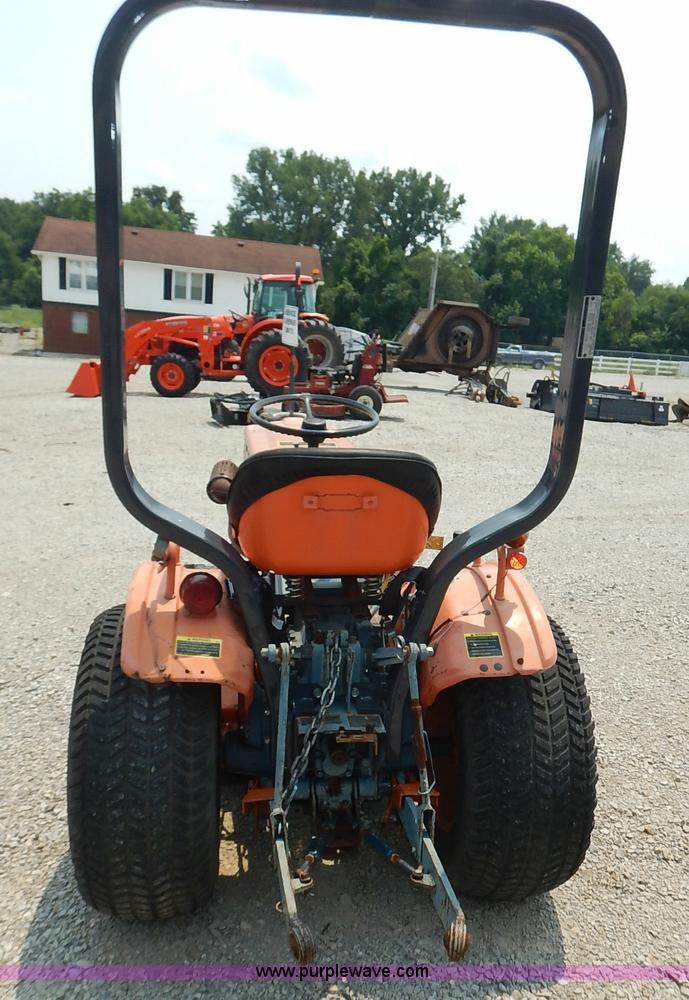 1985 Kubota B6100 tractor | Item J3795 | SOLD! July 29 Ag Eq