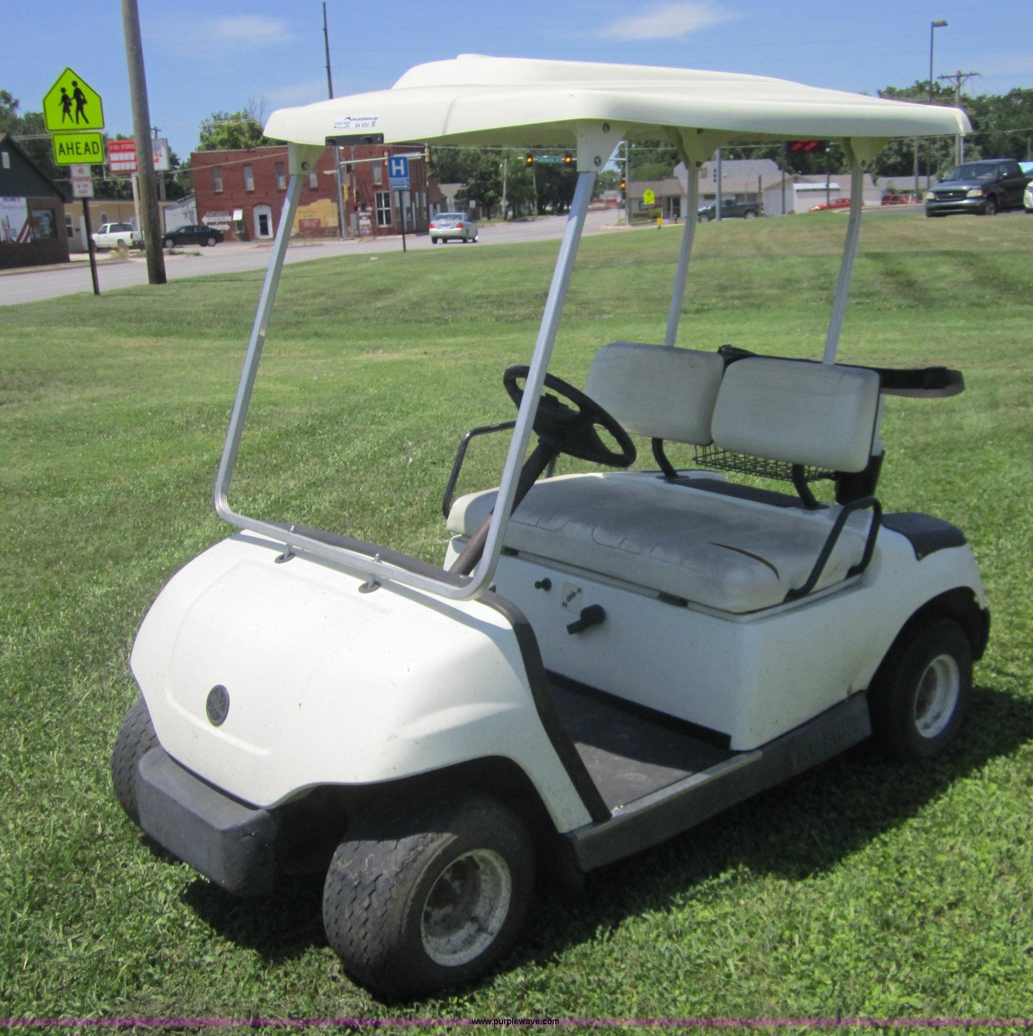 2003 Yamaha G22 Golf Cart G22a Wiring Diagram Item Ba9252 Sold July 29 Veh Rh Purplewave Com Specs Parts