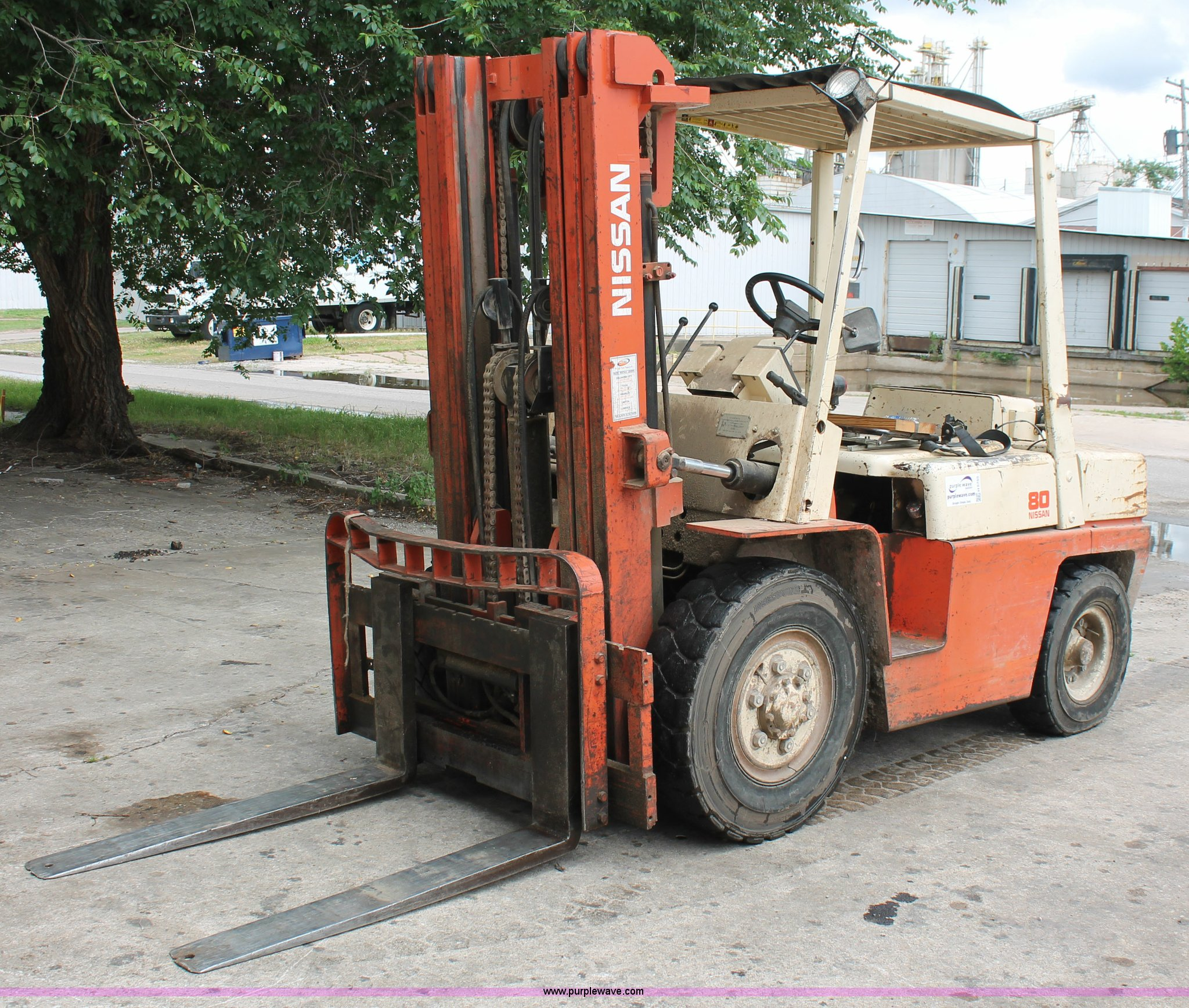 Nissan 80 forklift | Item H5755 | SOLD! July 29 Vehicles and... on