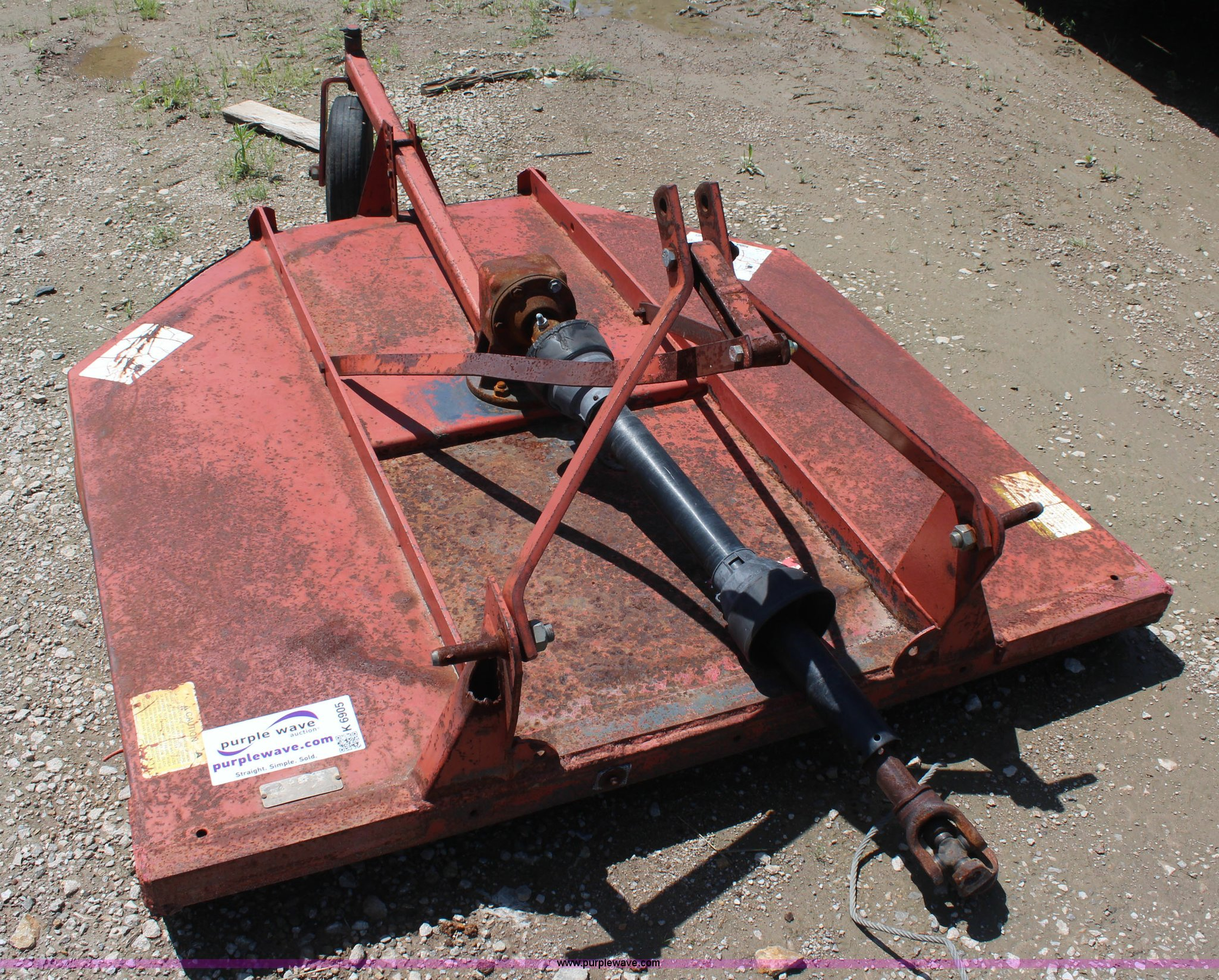 Rhino SE5 rotary mower | Item K6905 | SOLD! July 29 Vehicles