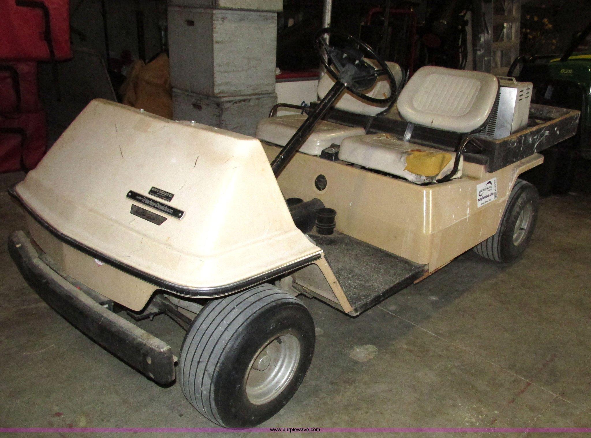 AMF Harley Davidson Master Glide IV golf cart | Item H4583 |...
