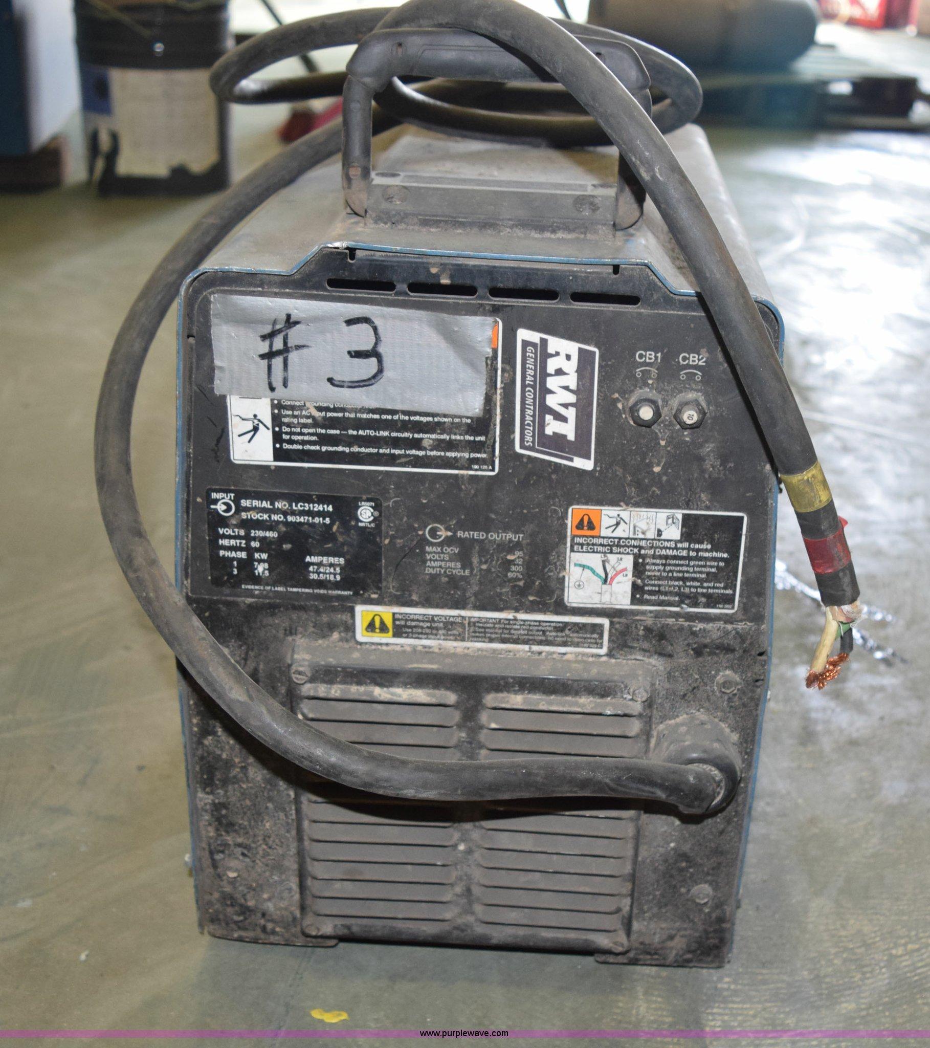 Miller XMT 304 arc welder | Item L3359 | SOLD! August 11 RWI