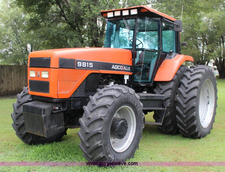 Agco Allis Tractors : Agco allis mfwd tractor item f sold august