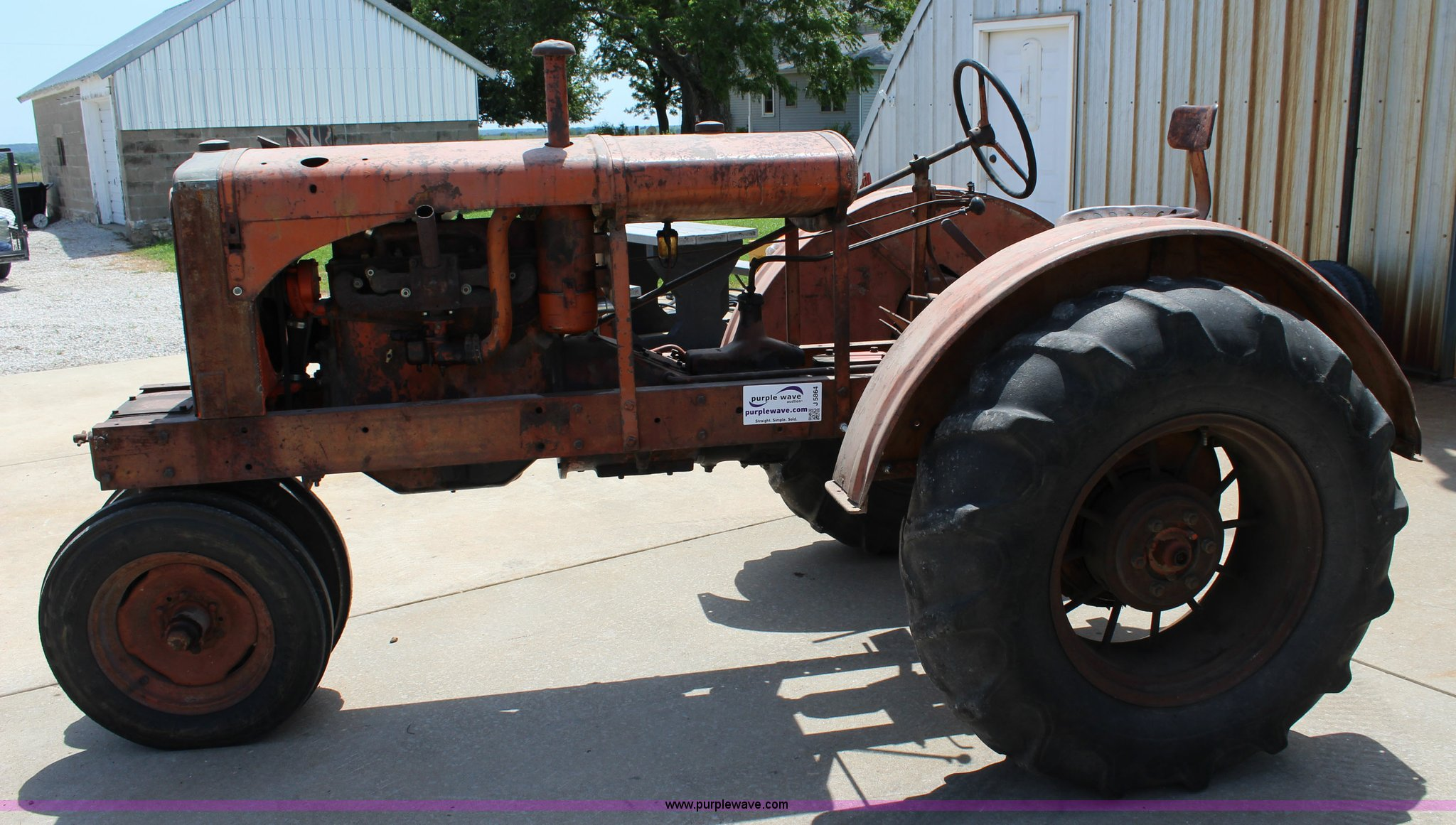 ... 1937 Allis Chalmers WC tractor Full size in new window ...