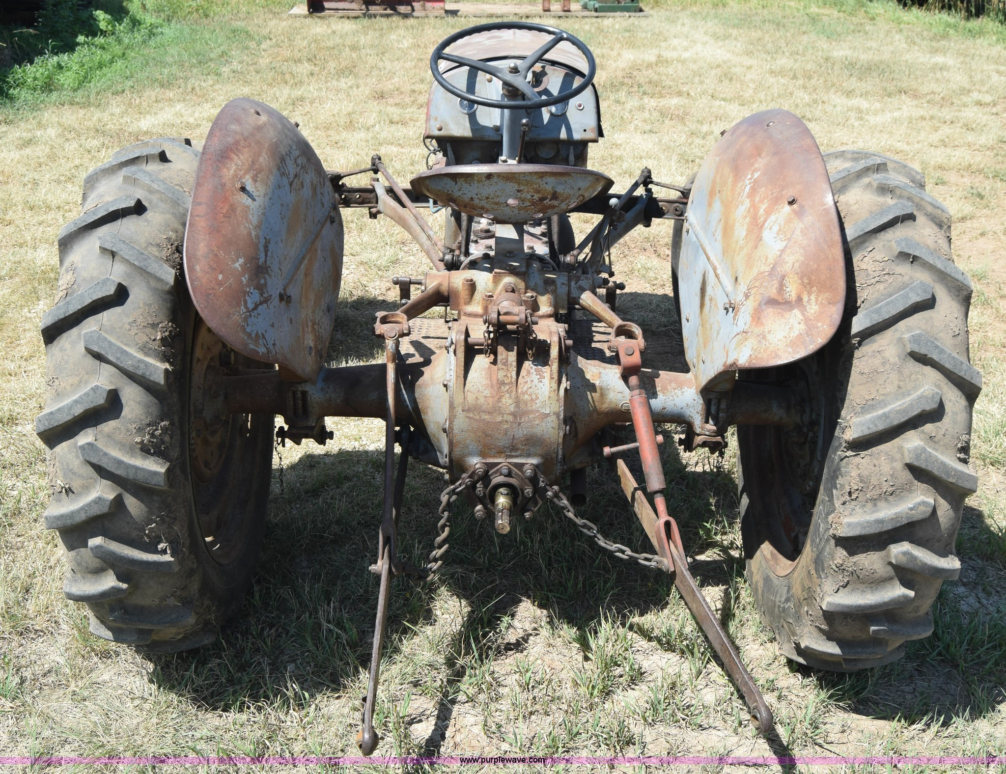 Massey-Ferguson TE20 tractor   Item J7939   SOLD! August 12