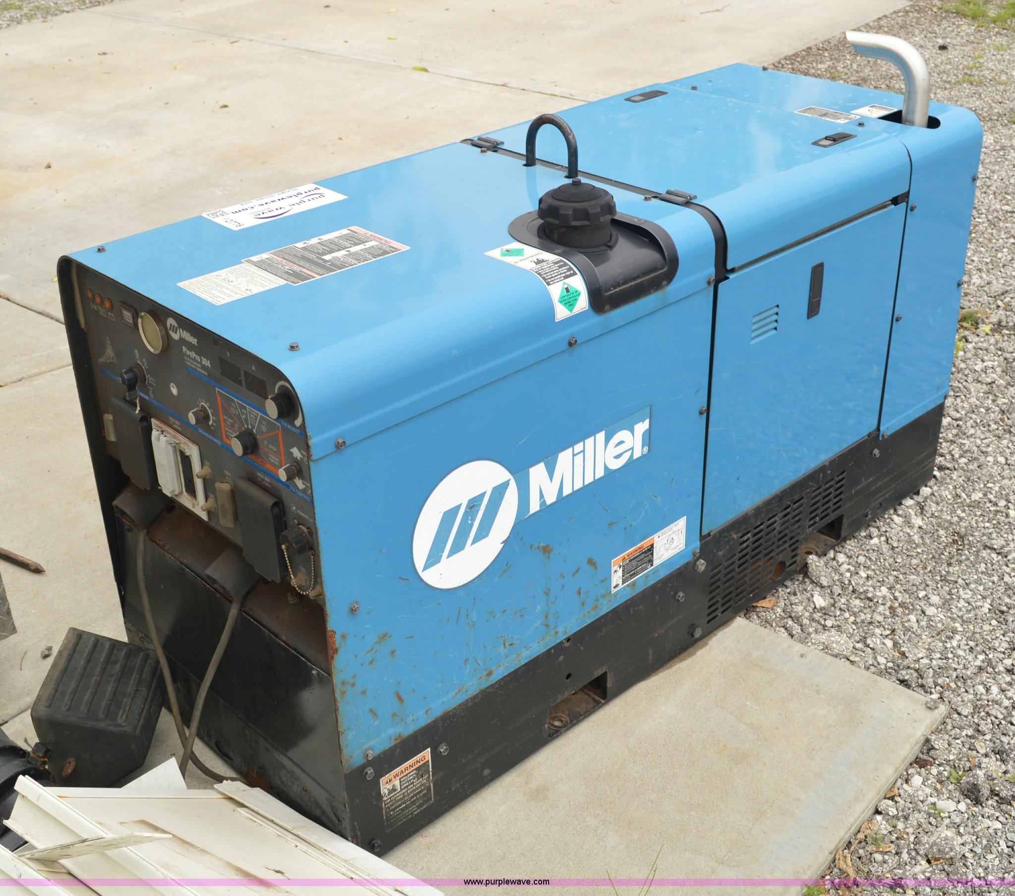 Miller Pipeline Welding Trucks Wiring Diagrams Green Usb Switch Circuit Diagram Projects Nonstopfree Pipe Pro 304 Welder Generator Item I2776 Sold Au Rh Purplewave Com Custom