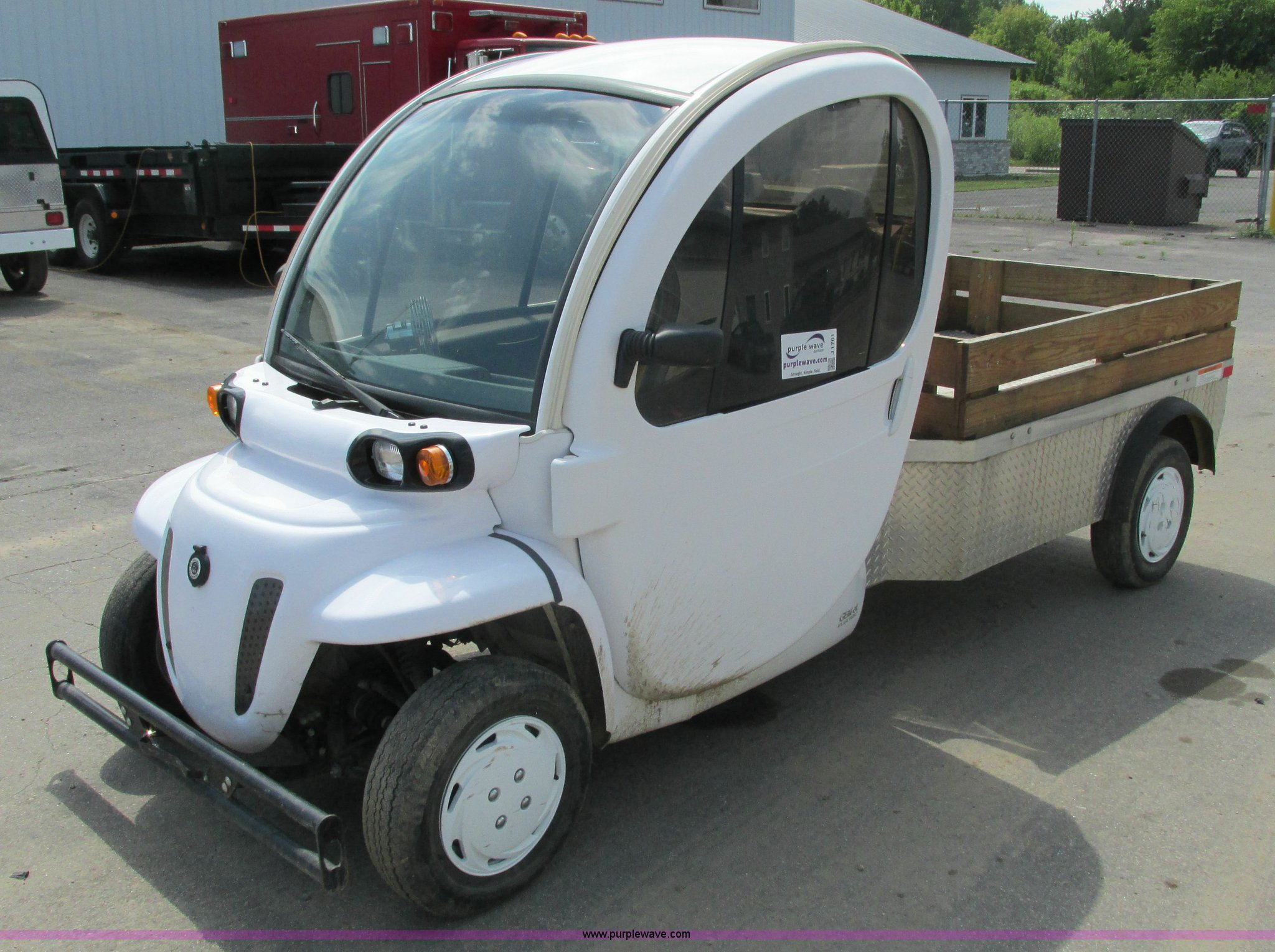Gem Car For Sale >> 2008 Gem Car Gem El Electric Utility Cart Item J1761 Sol