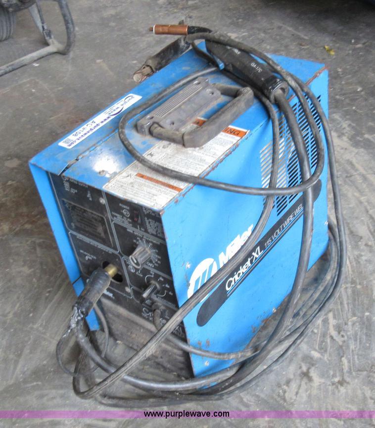 Mig Welder For Sale >> Miller Cricket XL mig welder | Item AO9108 | SOLD ...