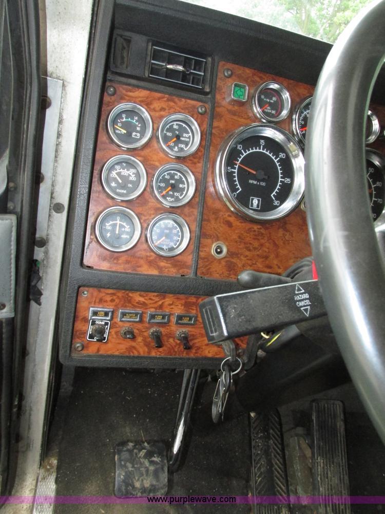 60 Kenworth W60L Semi Truck Item H60 SOLD August 60 Impressive Kenworth W900l Shift Pattern