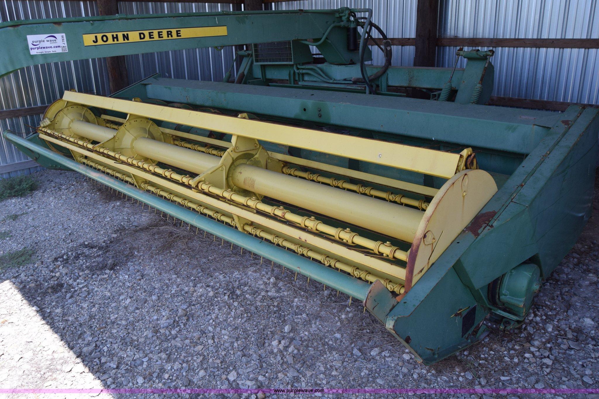 John Deere pull type windrower | Item J7836 | SOLD! August 2