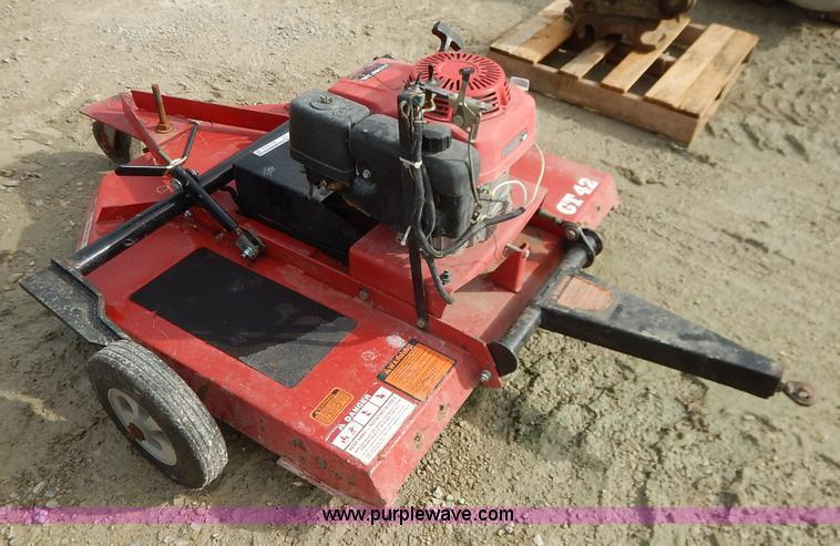 Bush Hog GT42 rotary mower | Item BO9949 | SOLD! August 26 V...