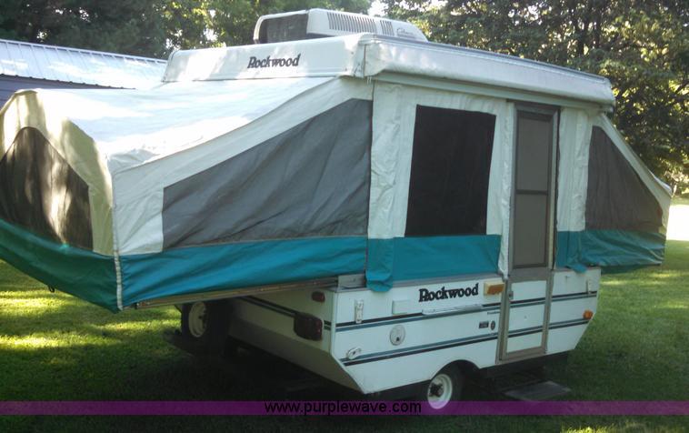 1997 Rockwood Freedom M1640 Pop Up Camper Item D1660 SOL