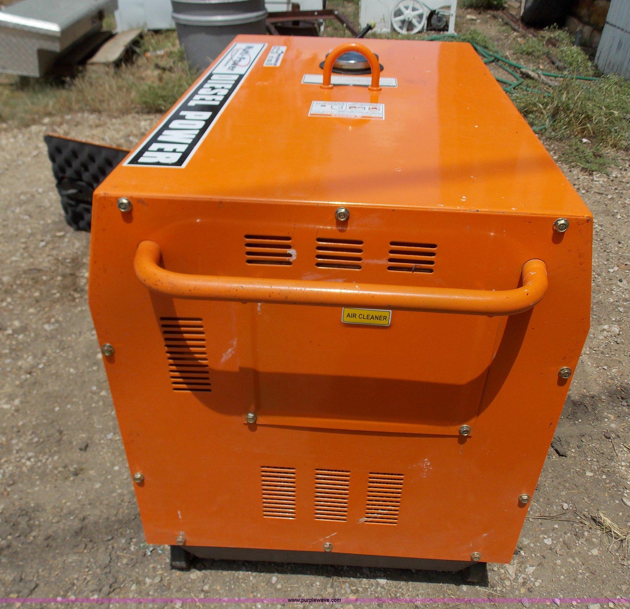 Multi Power silent generator Item BT9239