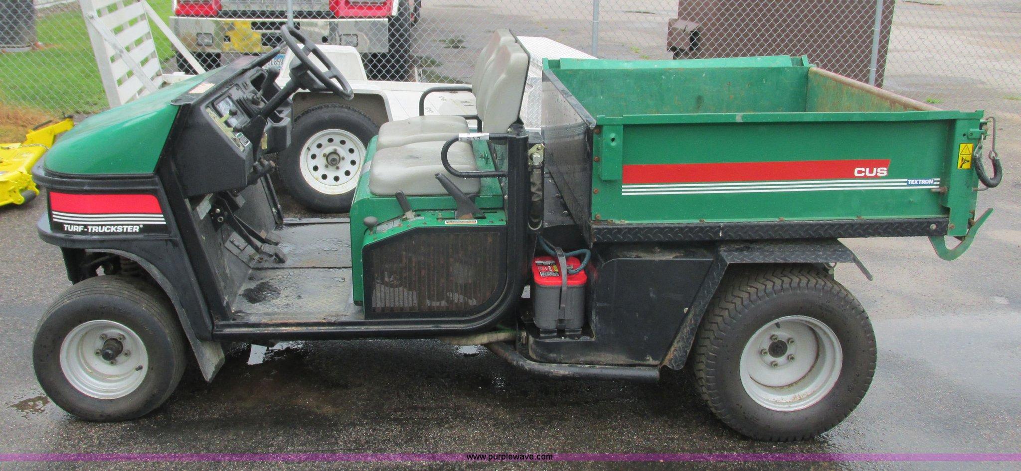 Cushman Hawk Wiring Diagram Turf Truckster Utility Vehicle Item 2048x946
