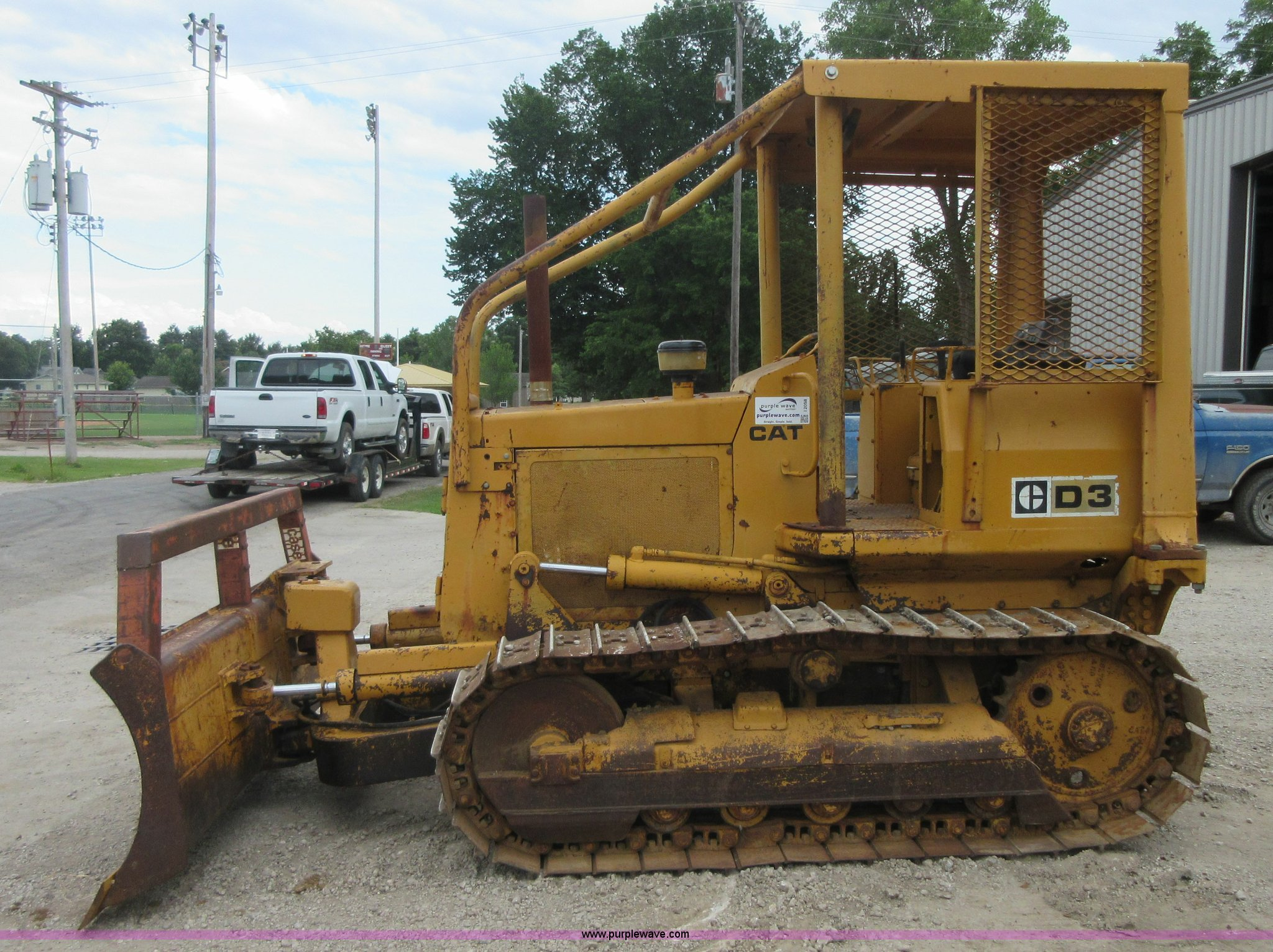 1979 Caterpillar D3 dozer | Item I2058 | SOLD! August 27 Con