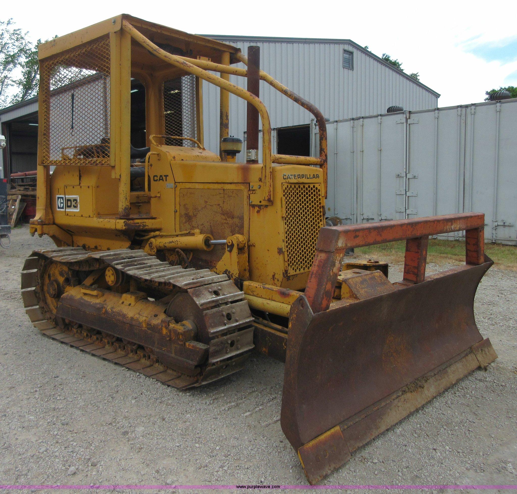 1979 Caterpillar D3 dozer   Item I2058   SOLD! August 27 Con