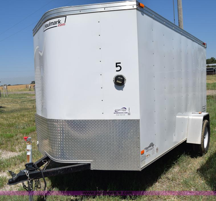 2010 Haulmark Enclosed Cargo Trailer