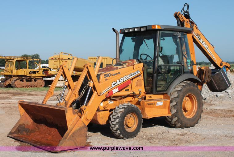 2007 Case 580 Super M Series II backhoe | Item I1550 | SOLD!
