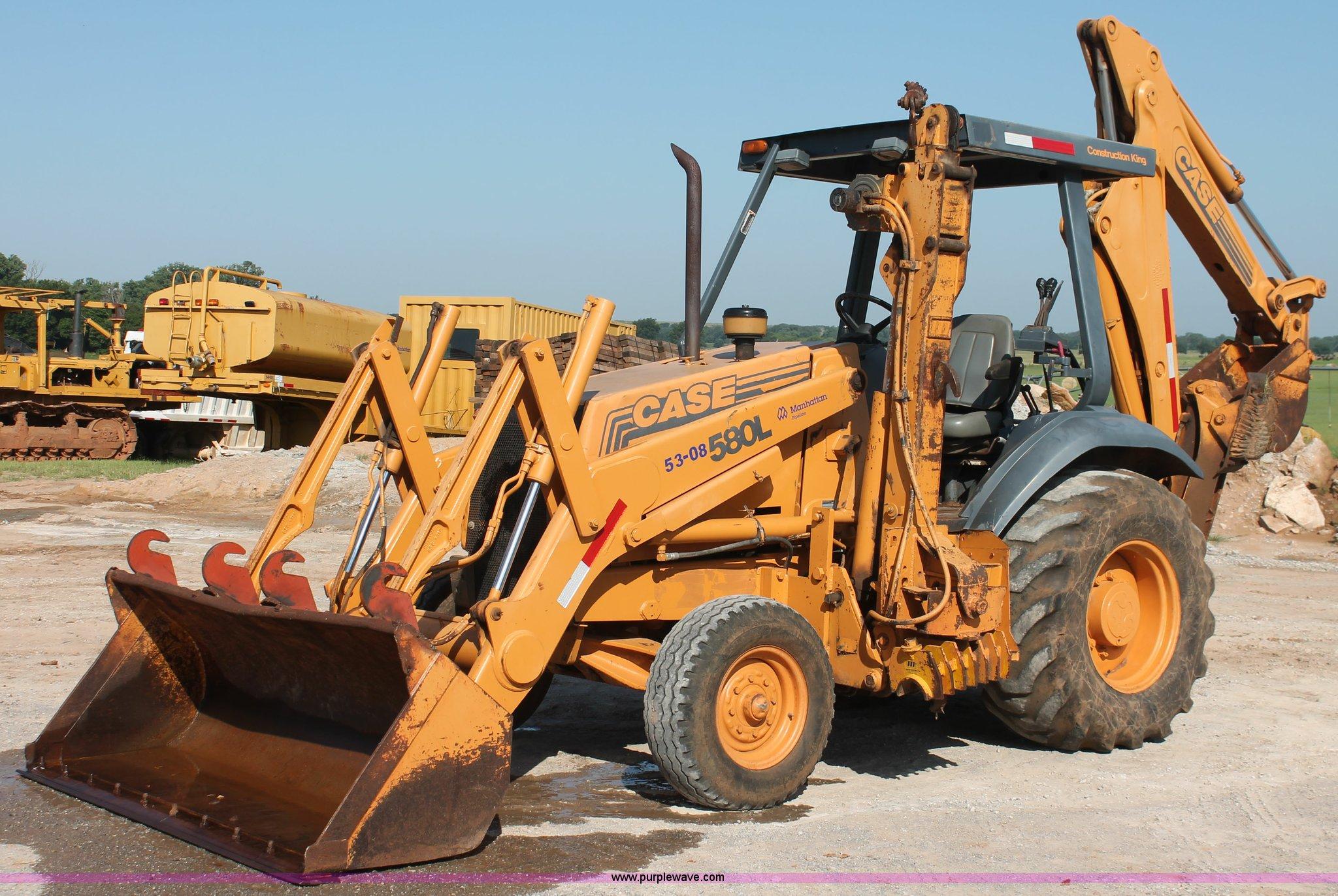 I1581 image for item I1581 1998 Case 580 Super L backhoe
