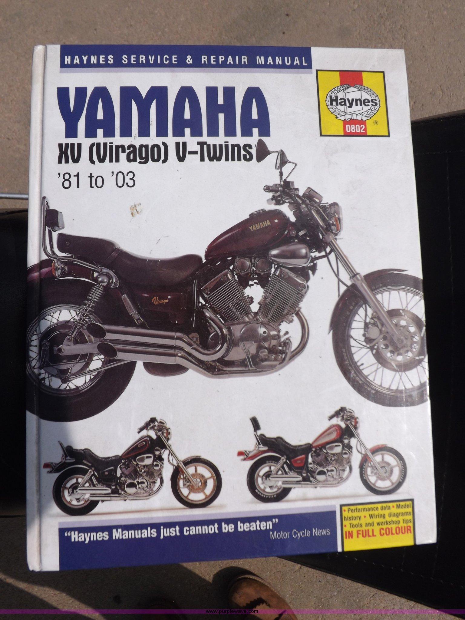 virago 920 wiring diagram 1982 yamaha virago xv920 motorcycle item j6882 9 9 2015  1982 yamaha virago xv920 motorcycle