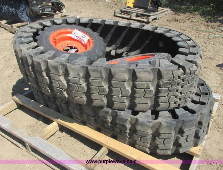 Solideal Skid Steer Tracks No Reserve Auction On