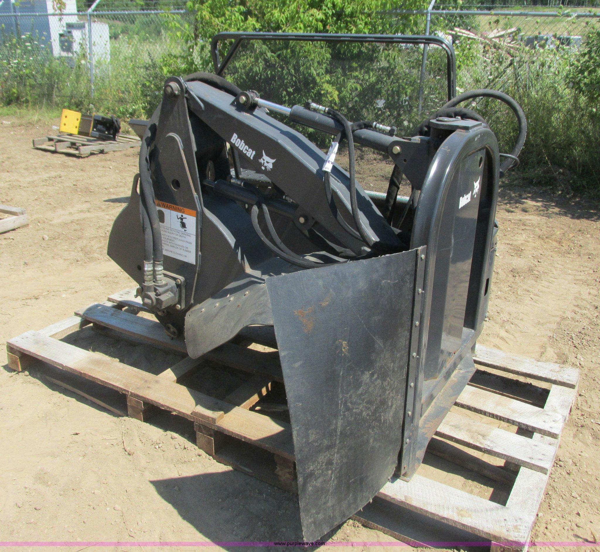 Bobcat Sg60 Skid Steer Stump Grinder Item K6539 Sold Se