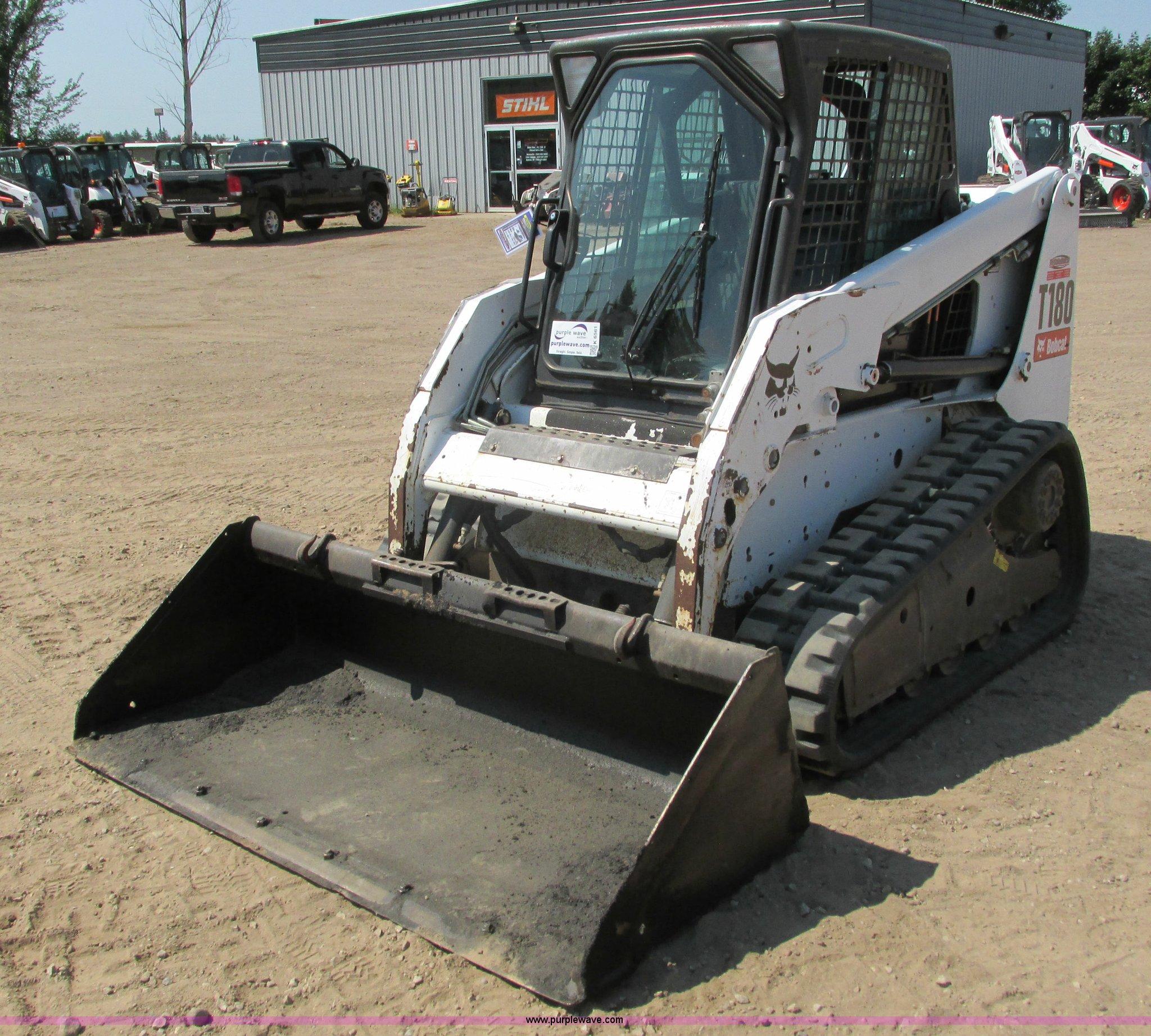 2012 Bobcat T180 skid steer | Item K6561 | SOLD! September 1