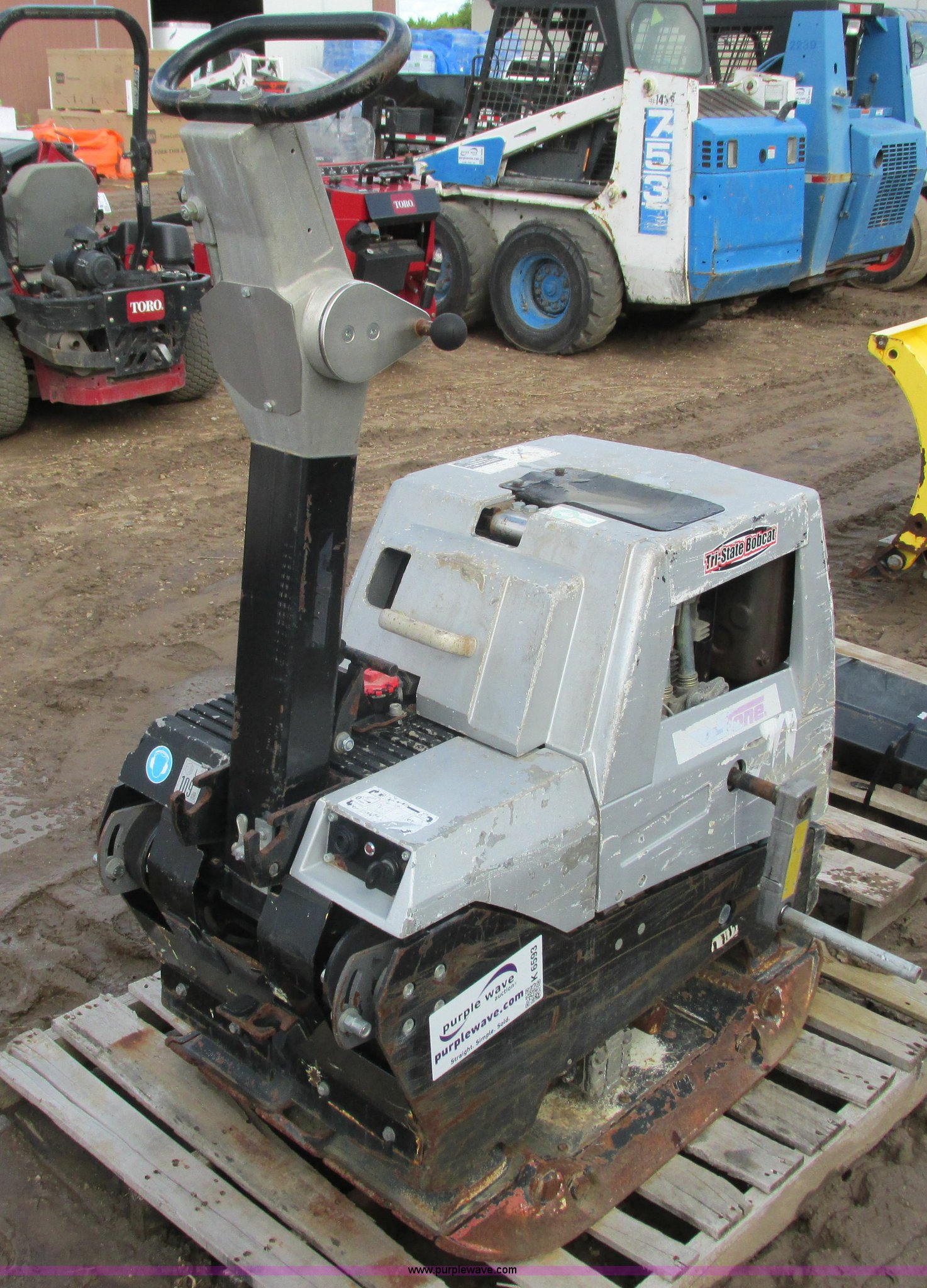 Stone RP1350 plate compactor | Item K6593 | SOLD! September