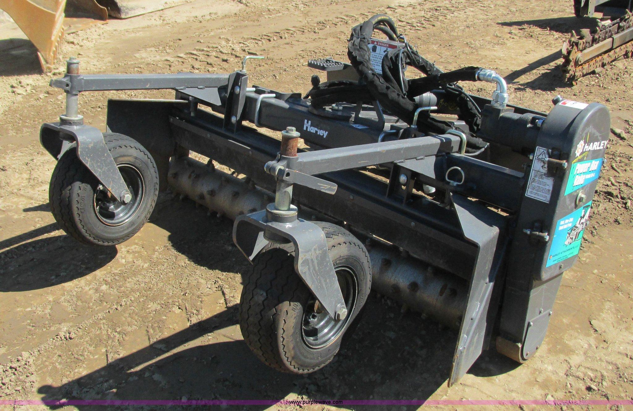 Harley M-54 soil conditioner skid steer attachment | Item K6