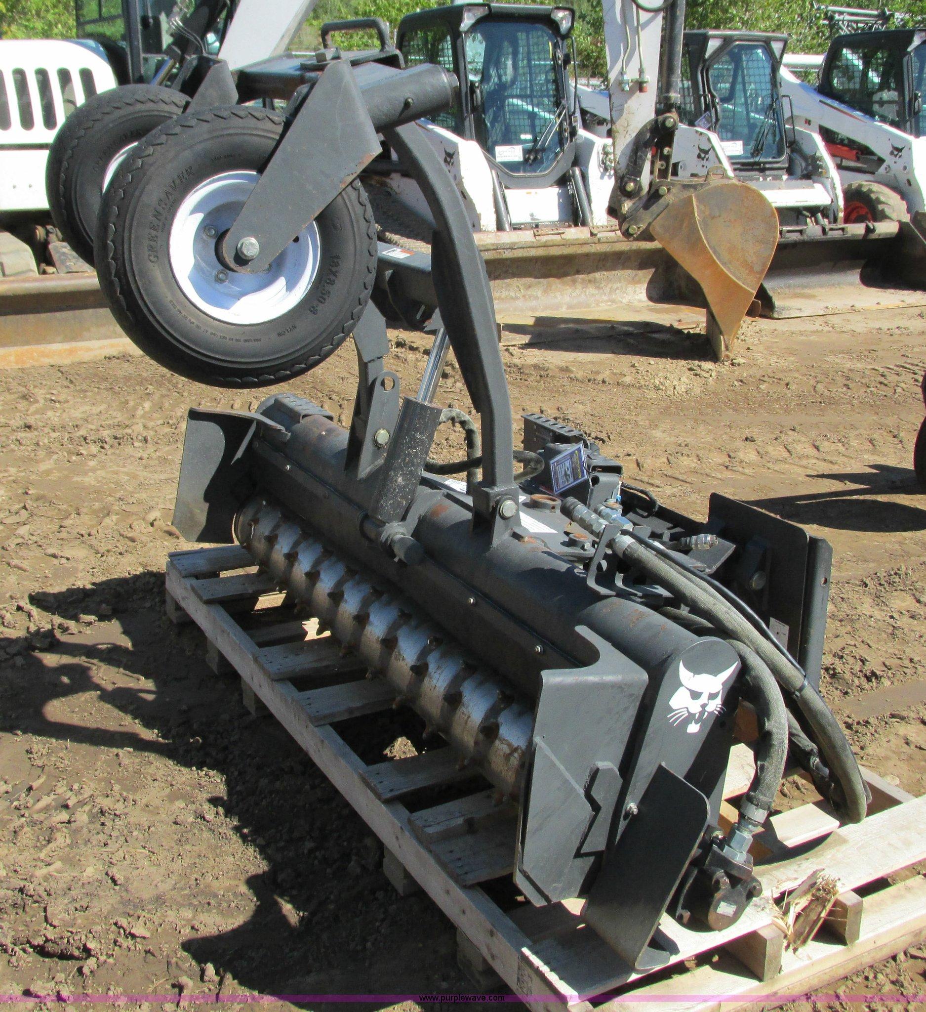 2012 Bobcat 72SCH soil conditioner skid steer attachment | I
