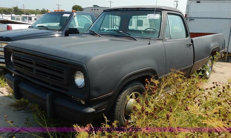 1972 Dodge D10 Adventurer pickup truck | Item J3605 | SOLD!