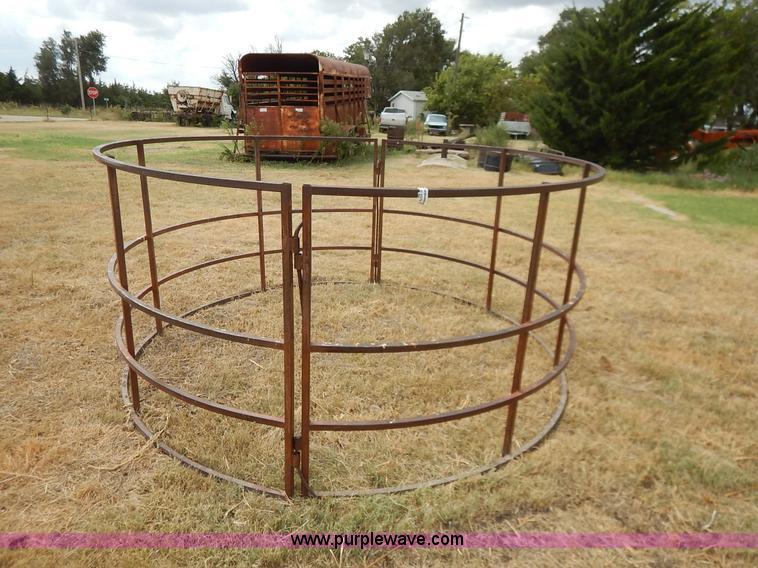 2) round hay bale feeders   Item BH9976   SOLD! September 2