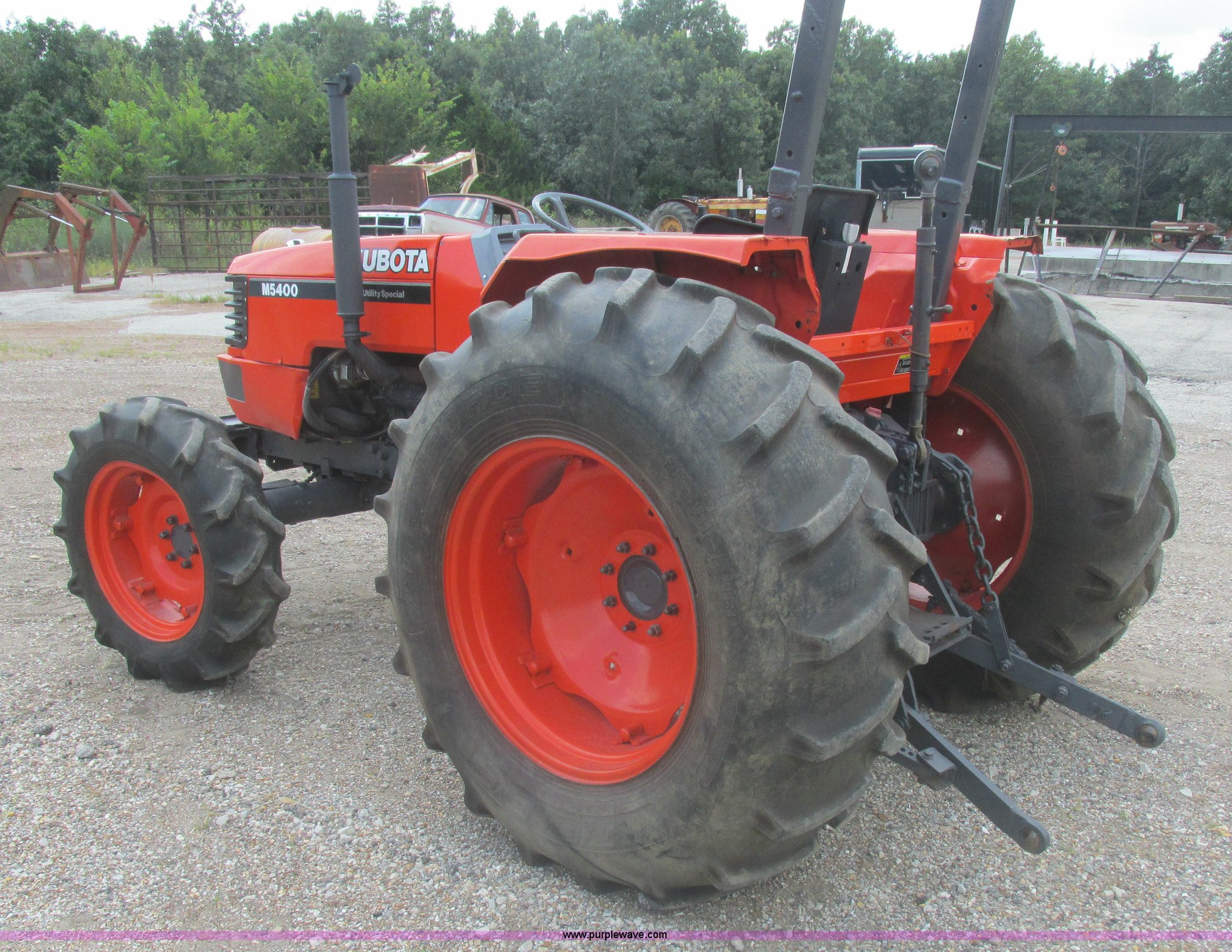 Pleasing Kubota M5400 Mfwd Tractor Item L4034 Sold September 23 Wiring Digital Resources Otenewoestevosnl