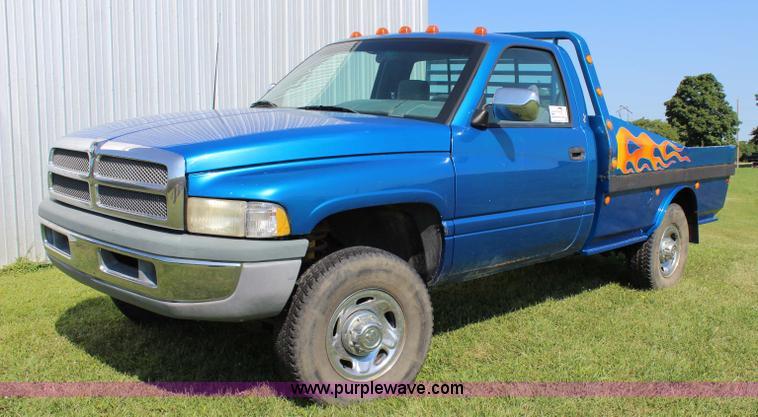 1996 Dodge Ram 2500 Flatbed Pickup Truck Item J3567 Sold