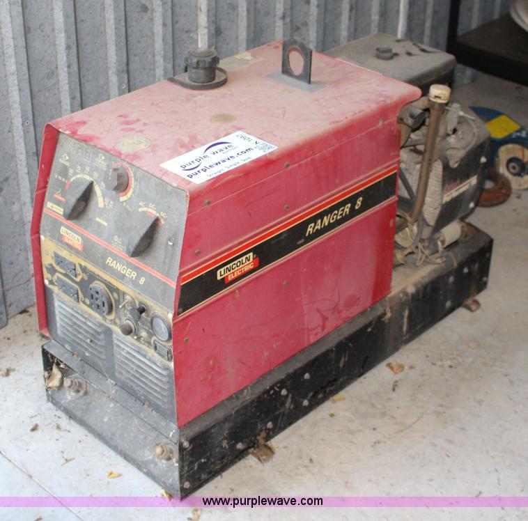 Lincoln Electric Ranger 8 Welder Item K1097 Sold Septem