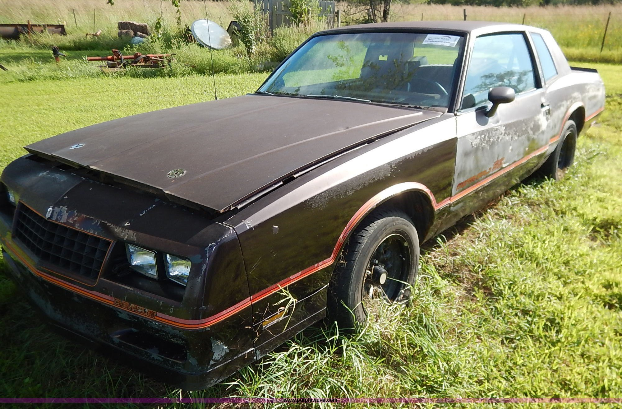 1985 Chevrolet Monte Carlo SS | Item J6431 | SOLD! September