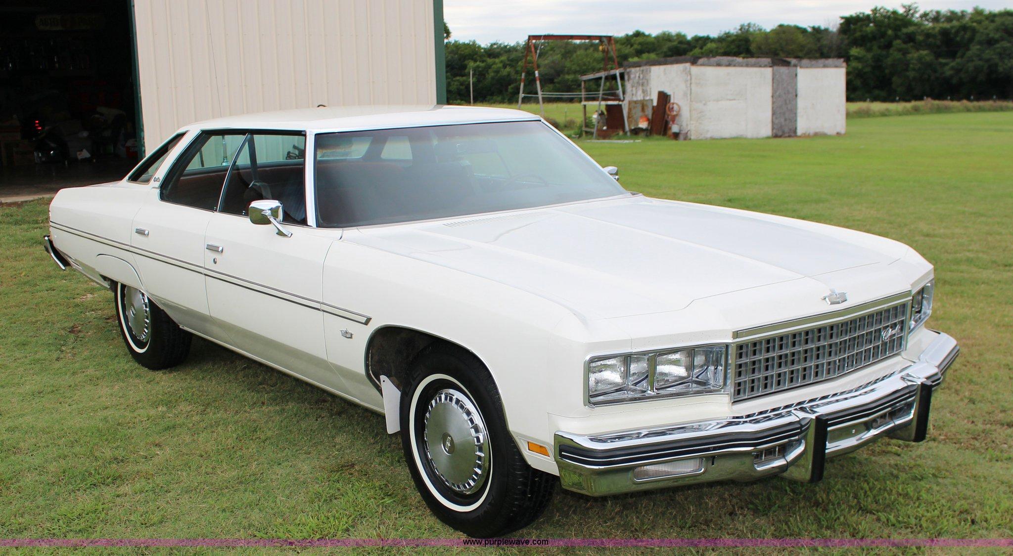 1976 Chevrolet Caprice Classic Sport   Item K1095   SOLD! Se