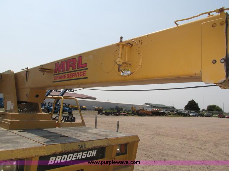 1998 Broderson IC-200-2C carry deck crane | Item H1222 | SOL