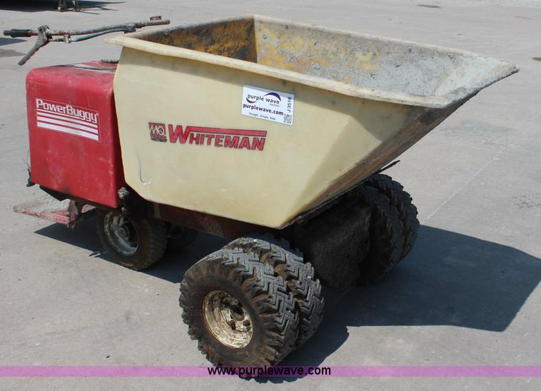 Multiquip Whiteman concrete buggy   Item J3516   SOLD! Septe
